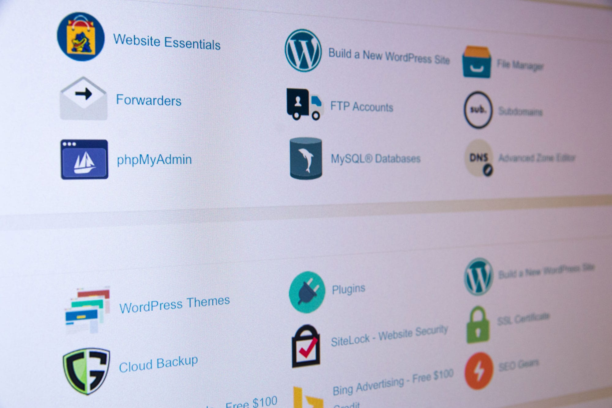 Custom website content management and development services in UK
