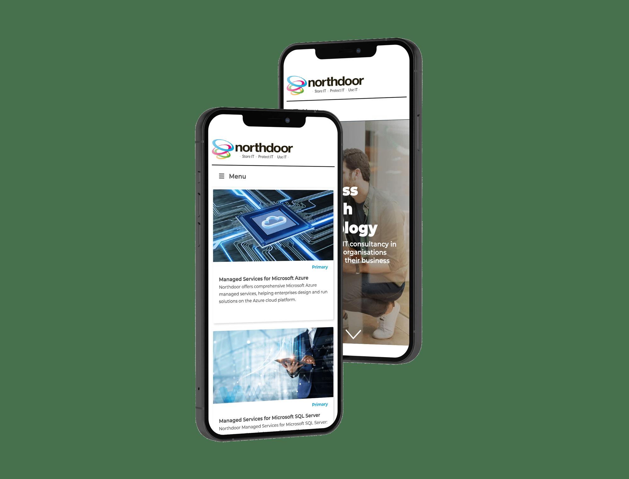 Mobile website re-design by Jerram